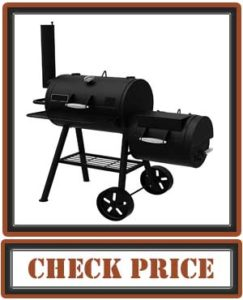 Dyna-Glo DGSS730CBO-D-KIT Signature SeriesBarrel Charcoal Grill & Side Firebox