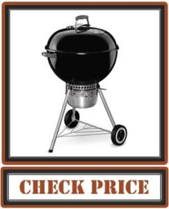 Weber Original Kettle Premium Charcoal Grill, 22-Inch