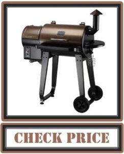 Z GRILLS Wood Pellet Grill & Smoker with Digital Temperature Controls
